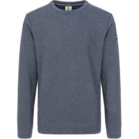 super.natural Vacation Knit Crew Pullover Men, dark avio melange